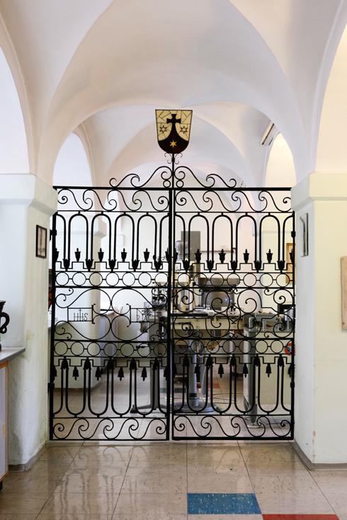 Eingang zur Geistfabrik