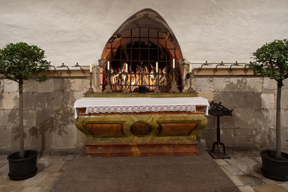 Altar der Ordenskrypta