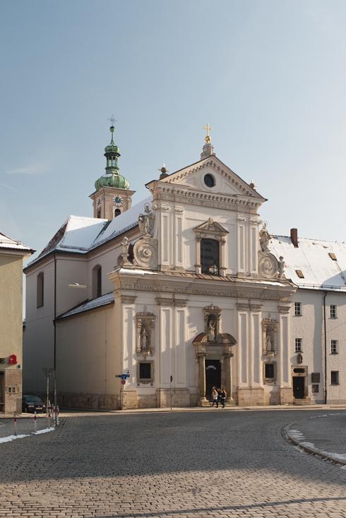 Fassade der Klosterkirche