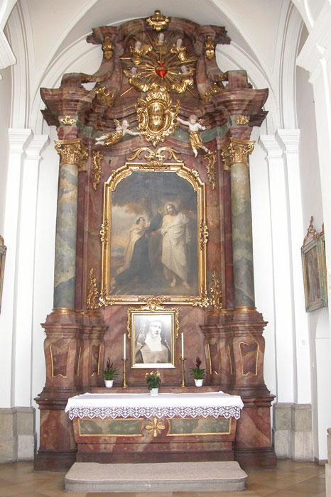 Seitenaltar des hl. Johannes vom Kreuz