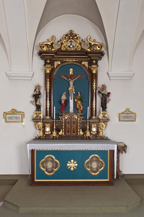 Altar im Betchor
